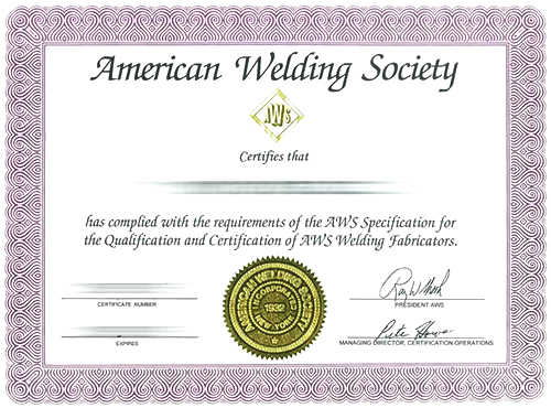 welder certification images reverse search
